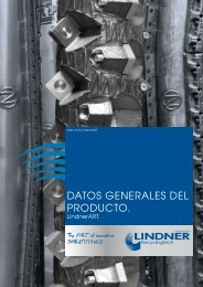 datos generales del producto. - Lindner-Recyclingtech GmbH