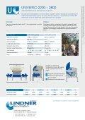 UNIVERSO - Lindner-Recyclingtech GmbH - Page 6