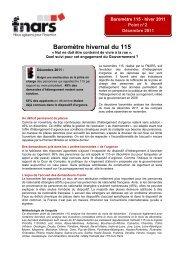 FNARS - Baromètre Hiver 2011 - Point 2-VF - La Croix