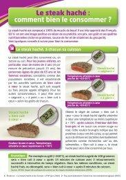 Le steak haché : comment bien le consommer ? - La-viande.fr
