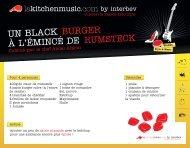UN BLACK BURGER - La-viande.fr
