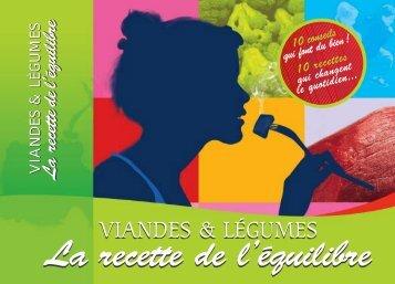 Viandes et légumes - La-viande.fr