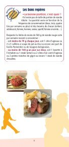 Le bon équilibre pour sa consommation de viande ... - La-viande.fr - Page 5