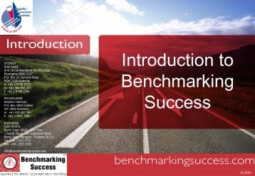 Introduction to Benchmarking Success