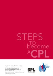 New Applications: CPL Application Pack - Logistics Association of ...
