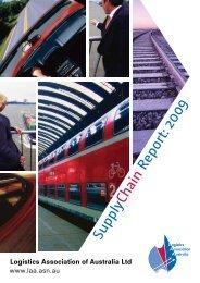 Supply Chain Report 2009 - Logistics Association of Australia