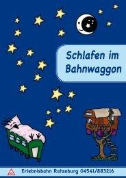 UEbernachtungsleitfaden2011 - der Erlebnisbahn Ratzeburg