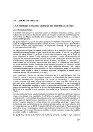 c – il sistema insediativo - Unione dei Comuni della Bassa Romagna