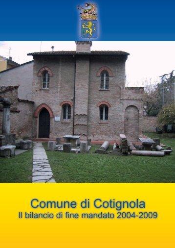 Comune di Cotignola - Unione dei Comuni della Bassa Romagna