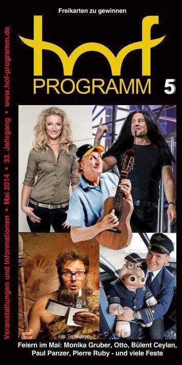 hof-programm - Mai 2014