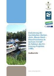 Evaluierung der Evaluierung der touristischen Marke ... - LABEL