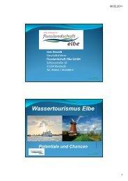 Wassertourismus Elbe - LABEL