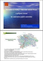 Povodňová rizika v hlavním městě Praze a přijatá řešení ke ... - LABEL
