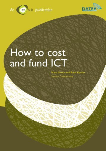 How to cost and fund ICT - National Council for Voluntary ...