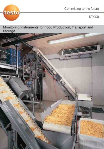 Monitoring Instruments for Food Production, Transport and Storage ...