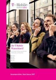 Ihr T-Mobile Wunschtarif