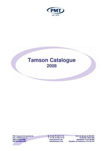 Tamson Catalogue