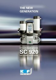 The New SC 920 vacuum pump System From - Labochema LT