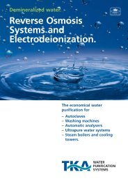 Reverse Osmosis Systems and Electrodeionization. - Labochema