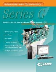 Series G Brochure - Gamry Instruments