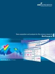 Software - ADInstruments