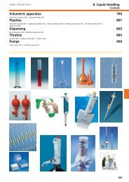8. Liquid Handling Volumetric apparatus 790 Pipettes ... - Labochema