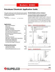 Bulletin 858C Petroleum/Chemicals Application Guide - Labochema