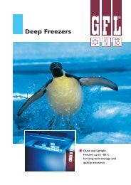 Deep Freezers - Instrulab