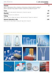 1. Lab consumables Vessels 4 Tools 94 Heating 107 ... - Labochema