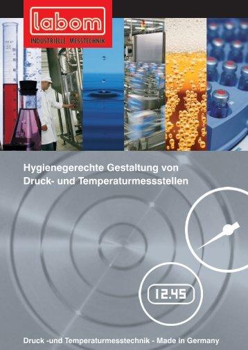Hygienegerechte Gestaltung von Druck- und ... - LABOM