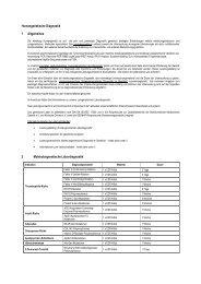 Humangenetische Diagnostik 1 Allgemeines 2 ... - Labor Leipzig