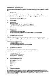 Stufenprogramm der Gerinnungsdiagnostik ... - Labor Leipzig