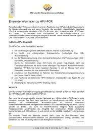 2010-09-17 Info HPV-Diagnostik mittels PCR - Labor Leipzig