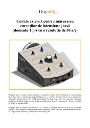 OrigaMμ - Andreescu Labor & Soft