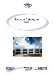 Tamson Catalogue - Andreescu Labor & Soft
