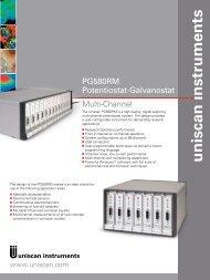 PG580RM Potentiostat-Galvanostat - Andreescu Labor & Soft