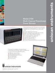 Model 3100 Multi-Channel Potentiostat Power Booster - Andreescu ...
