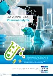 Pharmaanalytik - LaborPraxis - Vogel Business Media