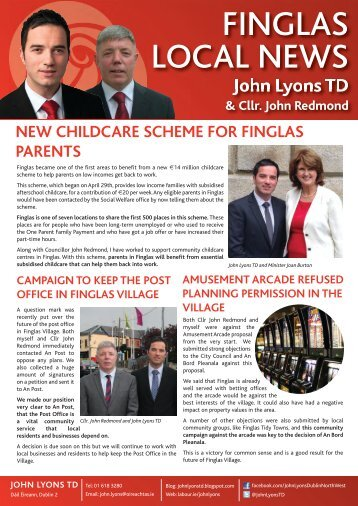 FINGLAS LOCAL NEWS