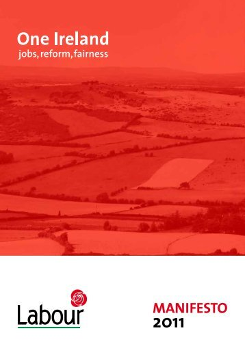 Labour's Manifesto - The Labour Party