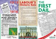 the Democratic Programme - The Labour Party