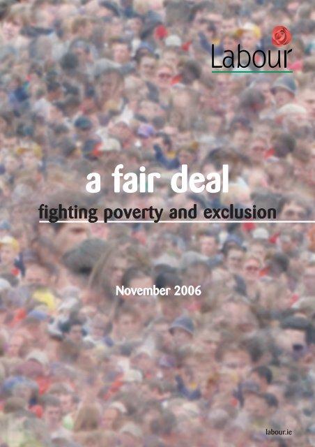 a fair deal - The Labour Party