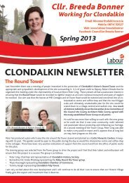 Clondalkin Newsletter edition - The Labour Party