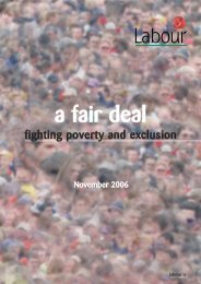 a fair deal - The Labour Party