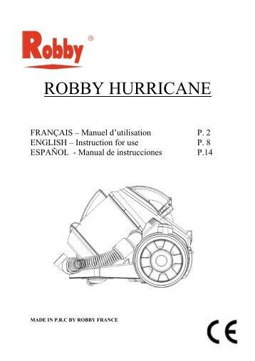 mode emploi hurricane