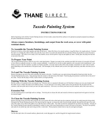 Tuxedo Painting System