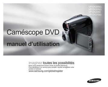 Caméscope DVD