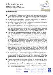 Informationen zur Heimaufnahme Seite 1 - Elias-Schrenk-Haus in ...