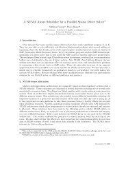 A NUMA Aware Scheduler for a Parallel Sparse Direct Solver - LaBRI