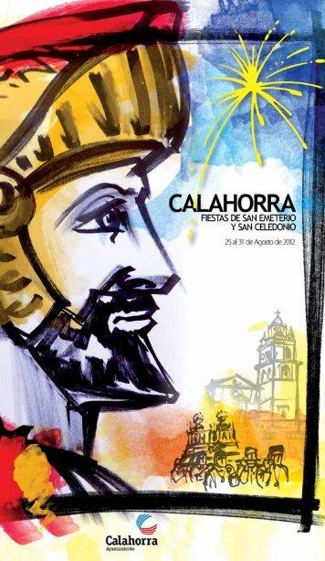 Programa de fiestas - Ayuntamiento de Calahorra